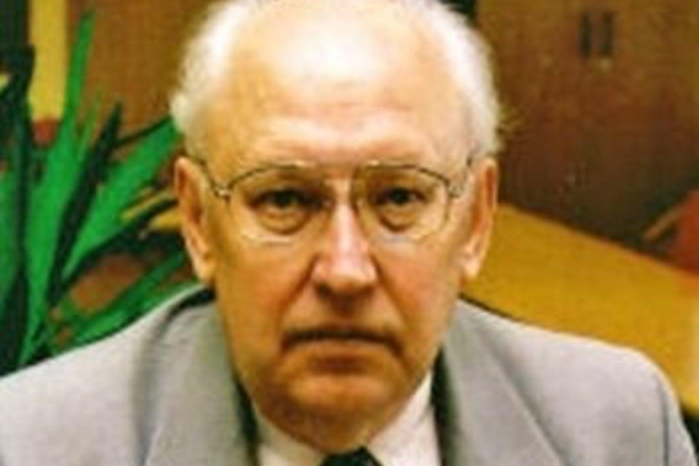 Profesorius E.J.Balčytis daug nuveikė muzikos edukacijos srityje.<br>Nuotr. iš Lietuvos muzikų sąjungos archyvo