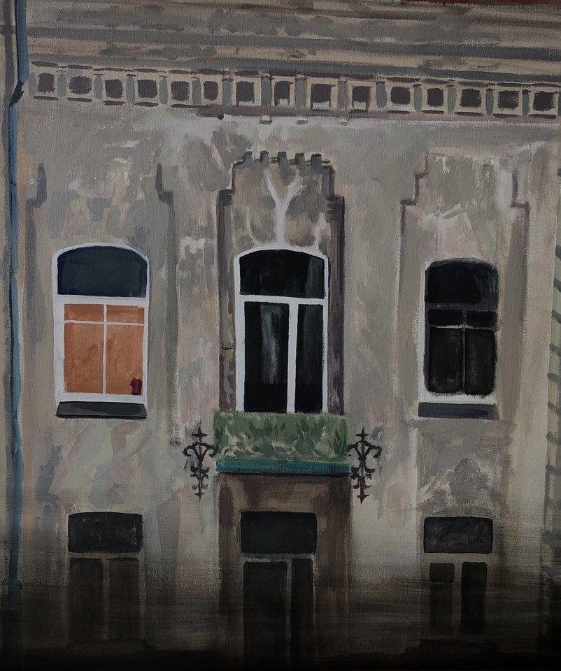Edvinas Mikulskis. Street of W. Szopen (2020)