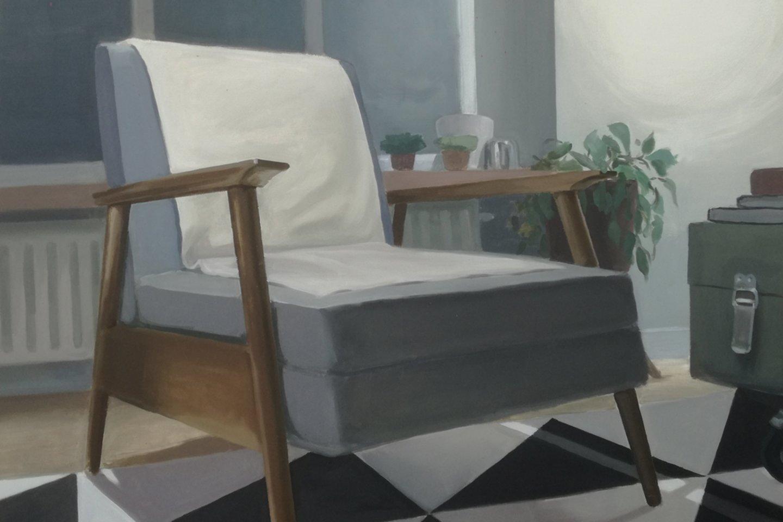 Mantas Daujotas. Fotelis Bazilijonų gatvėje (2017)