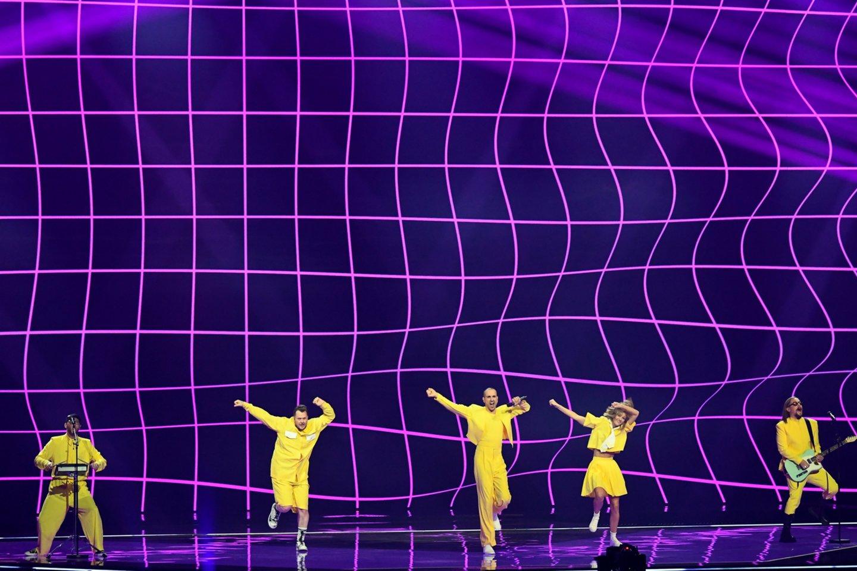 """""""The Roop"""" pasirodymas """"Eurovizijoje"""".<br>EBU / STIJN SMULDERS ir Scanpix nuotr."""