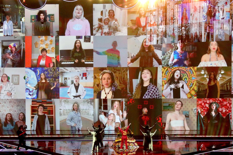 Rusijos pasirodymas.<br>EBU / STIJN SMULDERS ir Scanpix nuotr.