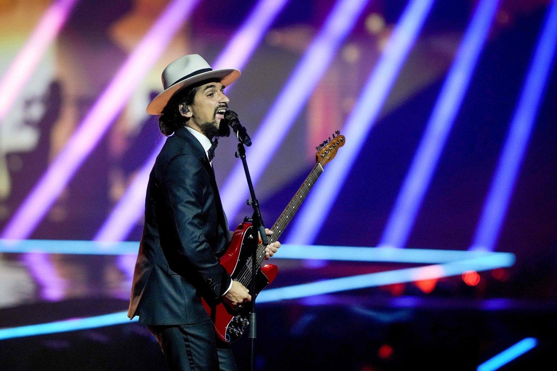 Portugalijos pasirodymas.<br>EBU / STIJN SMULDERS ir Scanpix nuotr.