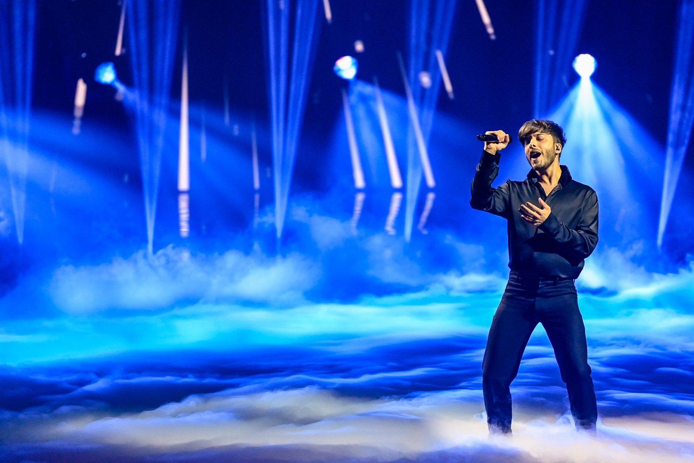 Ispanijos pasirodymas.<br>EBU / STIJN SMULDERS ir Scanpix nuotr.