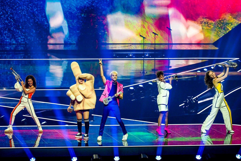 Vokietijos pasirodymas.<br>EBU / STIJN SMULDERS ir Scanpix nuotr.