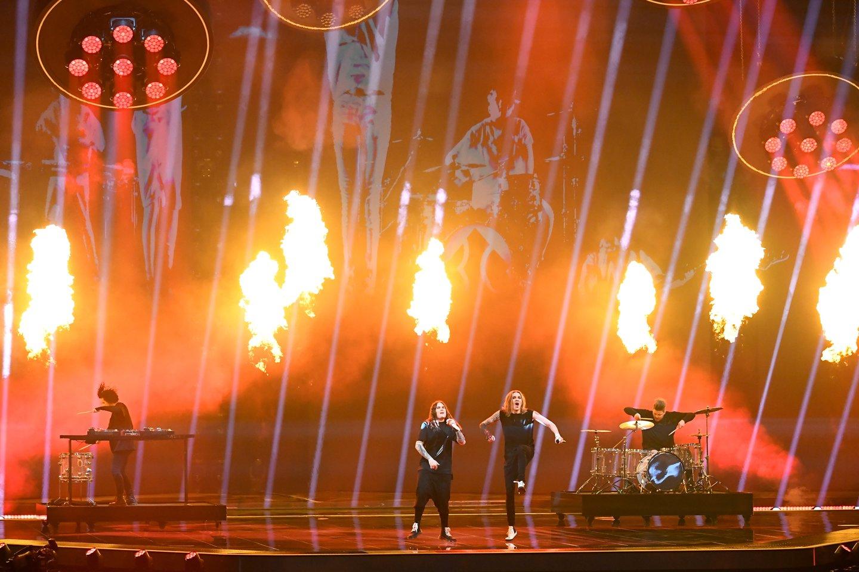 Suomijos pasirodymas.<br>EBU / STIJN SMULDERS ir Scanpix nuotr.