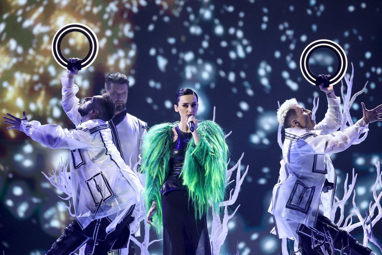 Ukrainos pasirodymas.<br>EBU / STIJN SMULDERS ir Scanpix nuotr.