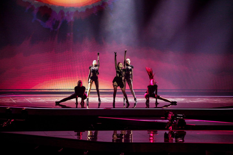Azerbaidžano pasirodymas.<br>EBU / STIJN SMULDERS ir Scanpix nuotr.