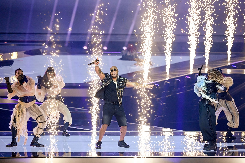 San Marino pasirodymas.<br>EBU / STIJN SMULDERS ir Scanpix nuotr.