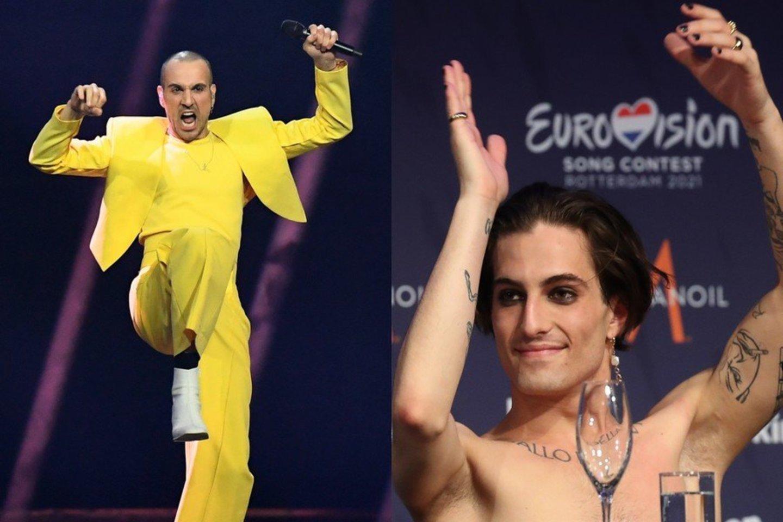 """""""Eurovizijos"""" kelionė šeštadienio vakarą pasibaigė.<br>Lrytas.lt koliažas."""