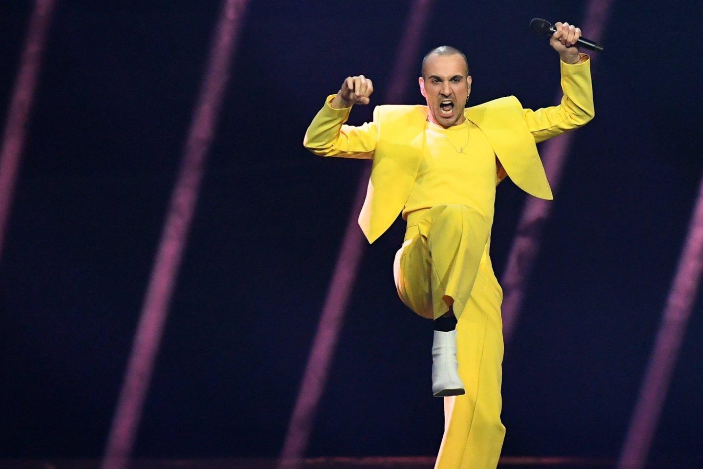 """Paaiškėjo, kurią vietą pirmajame """"Eurovizijos"""" pusfinalyje užėmė """"The Roop""""."""