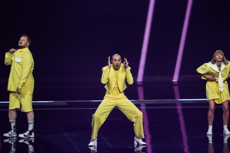 """Paaiškėjo, kurią vietą pirmajame """"Eurovizijos"""" pusfinalyje užėmė """"The Roop"""".<br>Scanpix nuotr."""