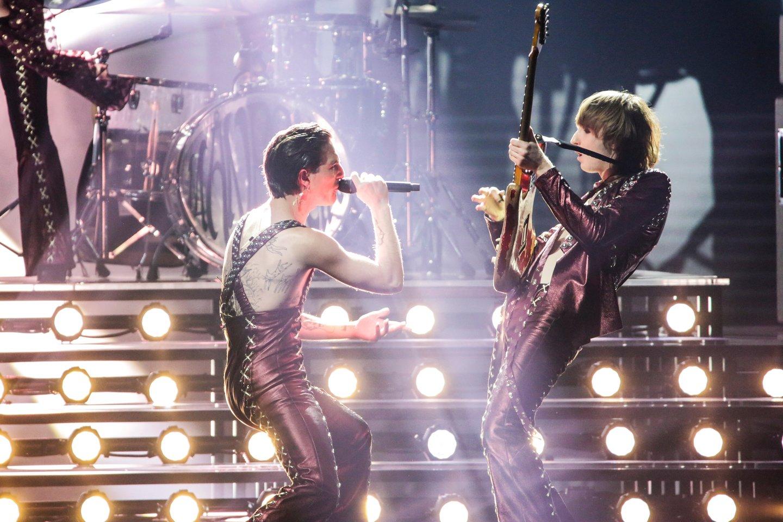 """Italijos pasirodymas """"Eurovizijos"""" scenoje.<br>EBU / ANDRES PUTTING nuotr."""
