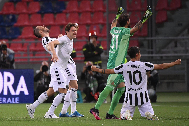 """""""Juventus"""" sulaukė varžovų dovanos.<br>AP/Scanpix nuotr."""