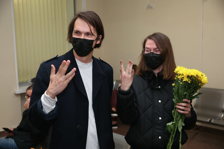 Saulius Baradinskas ir Beata Tiškevič.<br>R.Danisevičiaus nuotr.