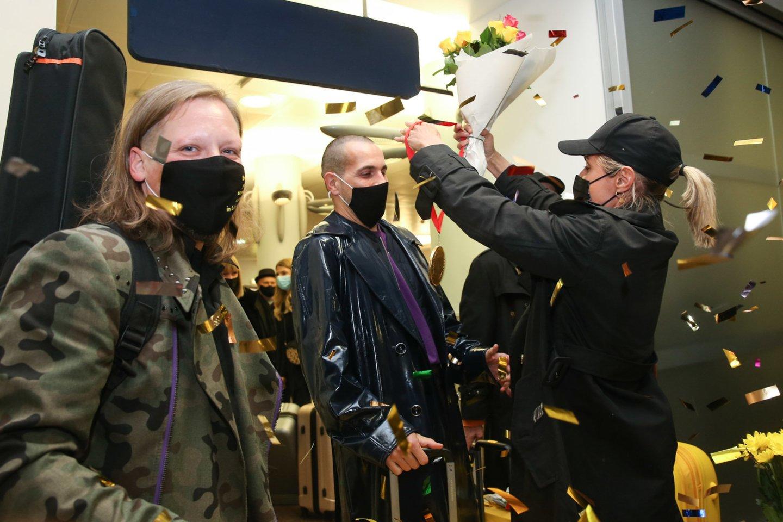 """""""The Roop"""" nusileido Vilniaus oro uoste.<br>R.Danisevičiaus nuotr."""