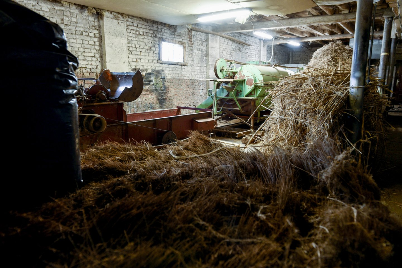 Kai kurią įrangą cechui vežėsi iš Latvijos.<br>V.Ščiavinsko nuotr.