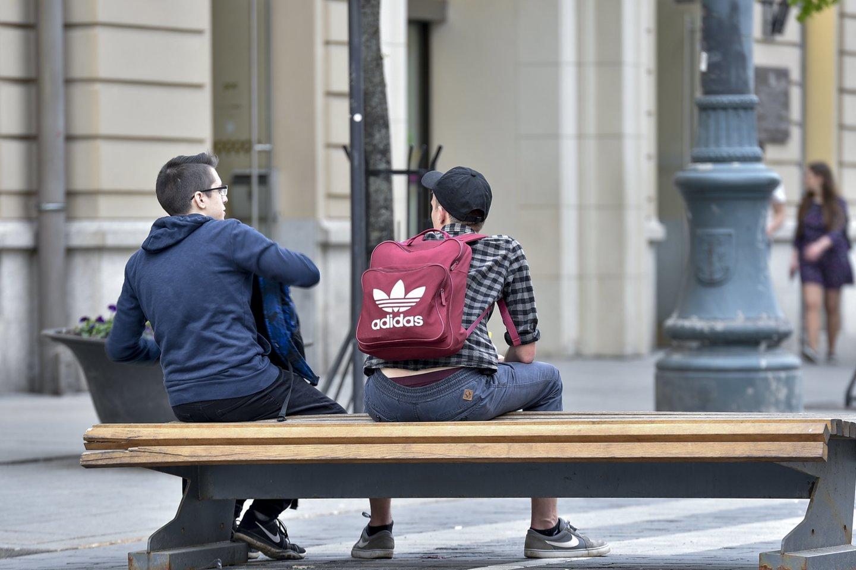 NTAKD: kasmet daugėja jaunuolių, visiškai nevartojančių alkoholio.<br>V.Ščiavinsko nuotr.