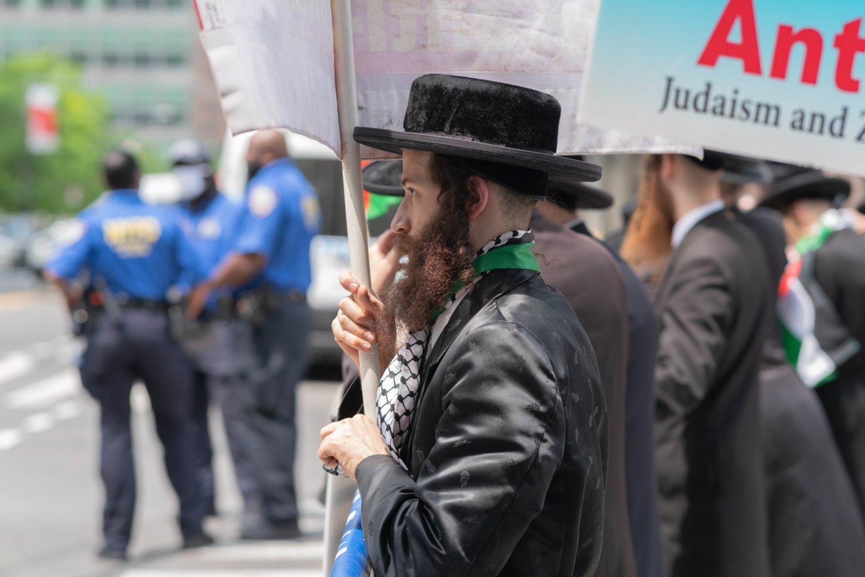 """JAV prezidentas Joe Bidenas pirmadienį pasmerkė """"neapykantos kupinus"""" išpuolius ir agresyvius veiksmus prieš žydus. (Asociatyvi nuotr.)<br>ZUMA Press/Scanpix nuotr."""