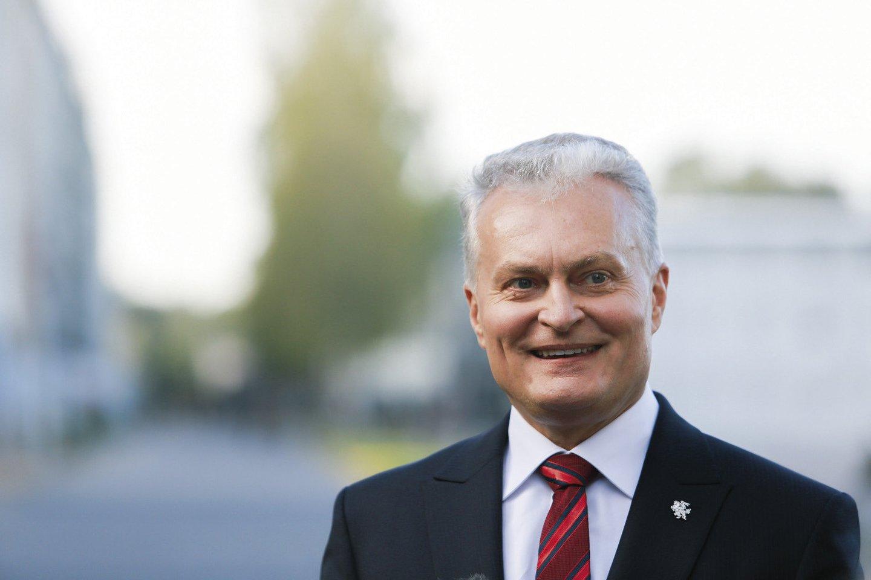 Prezidentas Gitanas Nausėda.<br>LR archyvo nuotr.
