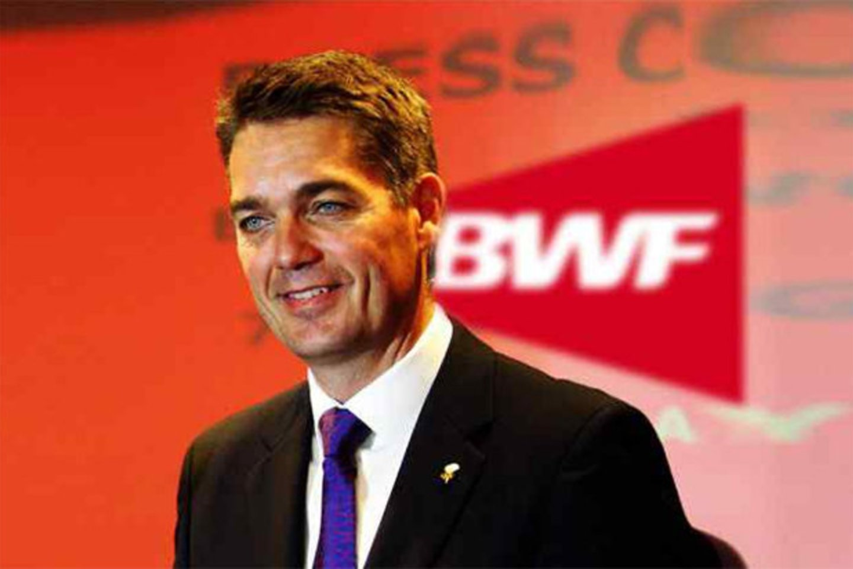P.E.Hoyeris perrinktas BWF vadovu.<br>BWF nuotr.