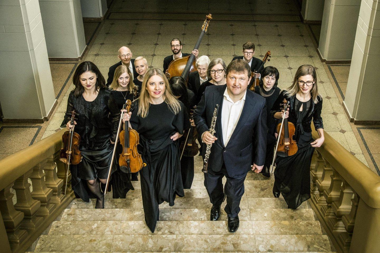 "R.Beinaris – ansamblio ""Musica humana"" meno vadovas ir dirigentas.<br>D.Matvejevo nuotr."