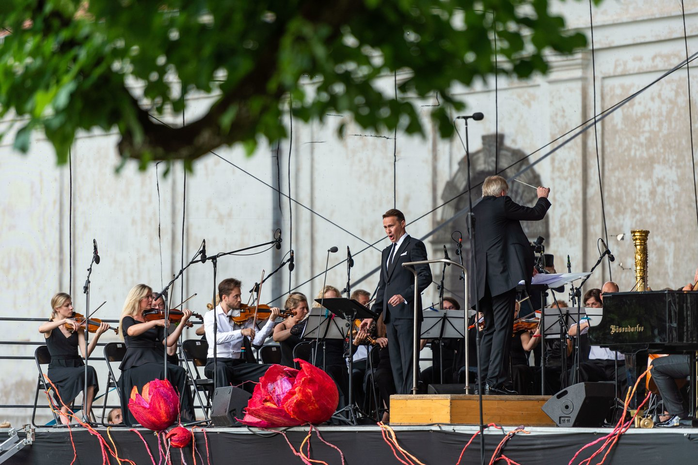 Naujasis Pažaislio festivalio meno vadovas lips ir į renginio sceną.<br>J.Danielevičiaus nuotr.