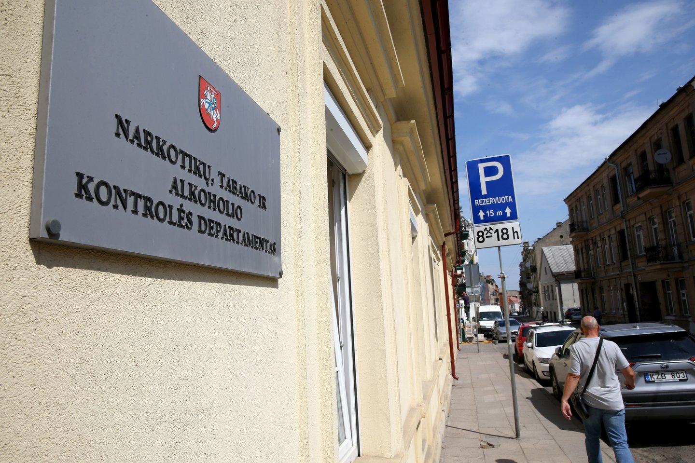 Narkotikų tabako ir alkocholio kontrolės departamentas<br>R.Danisevičiaus nuotr.