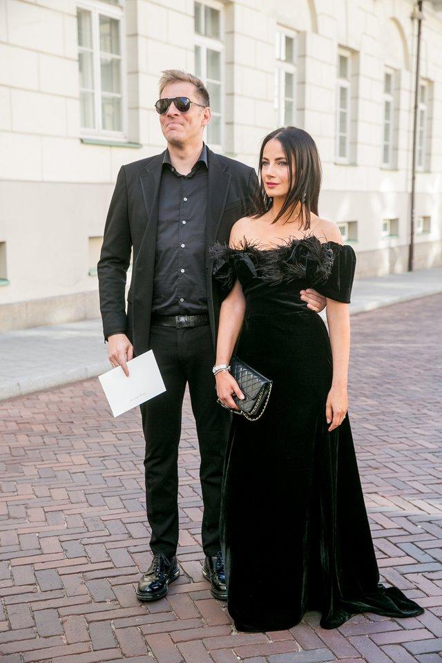 Saulius Prūsaitis ir Agnė Kuzmickaitė.<br>T.Bauro nuotr.