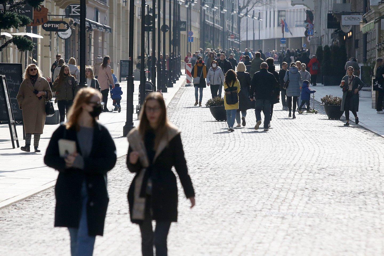 Karantinas Lietuvoje.<br>R.Danisevičiaus nuotr.