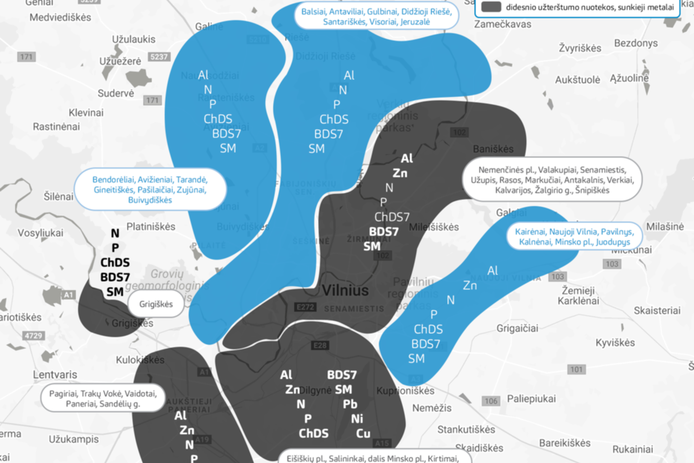 Iš beveik visų Vilniaus zonų atitekančiose nuotekose dalis teršalų viršija nustatytas koncentracijos ribas.<br>Vilniaus vandenys nuotr.