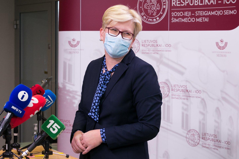 Ingrida Šimonytė<br>T.Bauro nuotr.