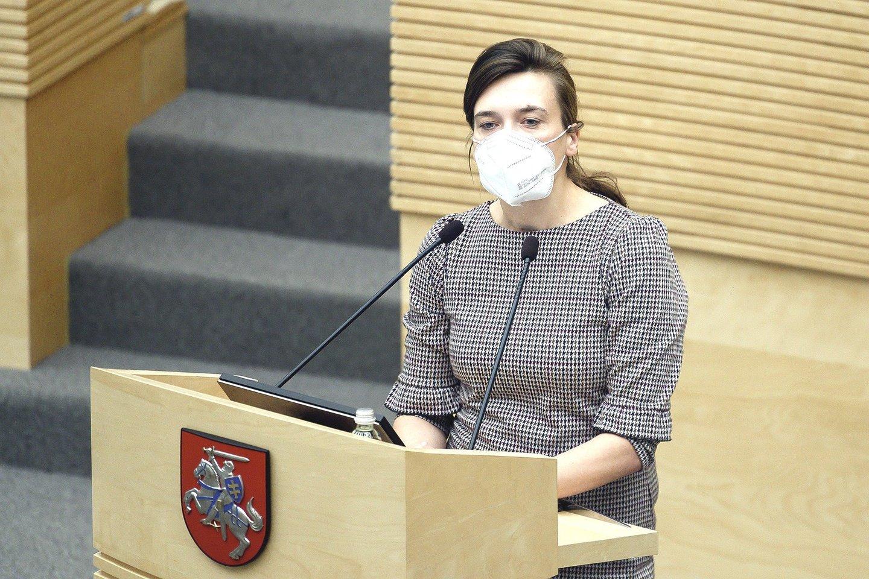 """R.Morkūnaitė-Mikulėnienė: """"Konservatorių frakcijos narių abejonės buvo žinomos ir mūsų partneriams."""""""