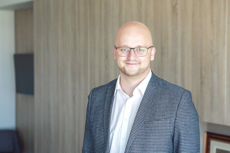 """""""Axioma Metering"""" direktorius I.Vosylius džiaugėsi, kad įmonės veiklos rezultatai viršijo lūkesčius."""