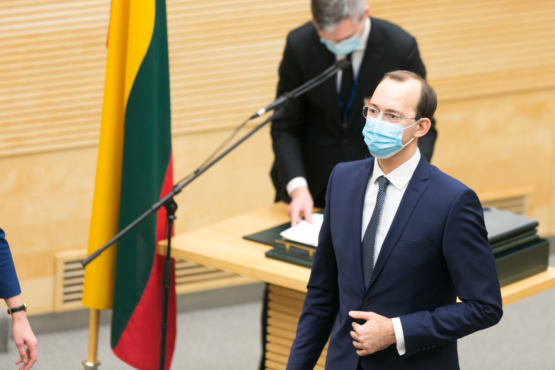 Marius Skuodis.<br>T.Bauro nuotr.
