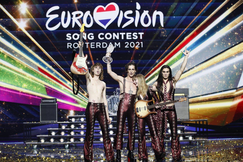 Konkursą laimėjo italai.<br>EBU/ ANDRES PUTTING nuotr.