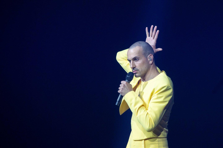 Lietuviai konkurse užėmė 8-ąją vietą.<br>EBU/ ANDRES PUTTING nuotr.