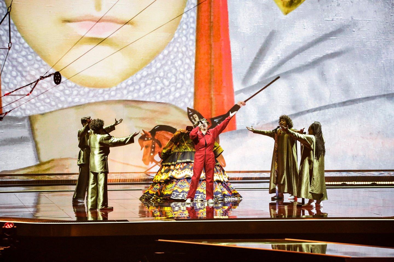 Rusijos atlikėja.<br>EBU/ THOMAS HANSES nuotr.