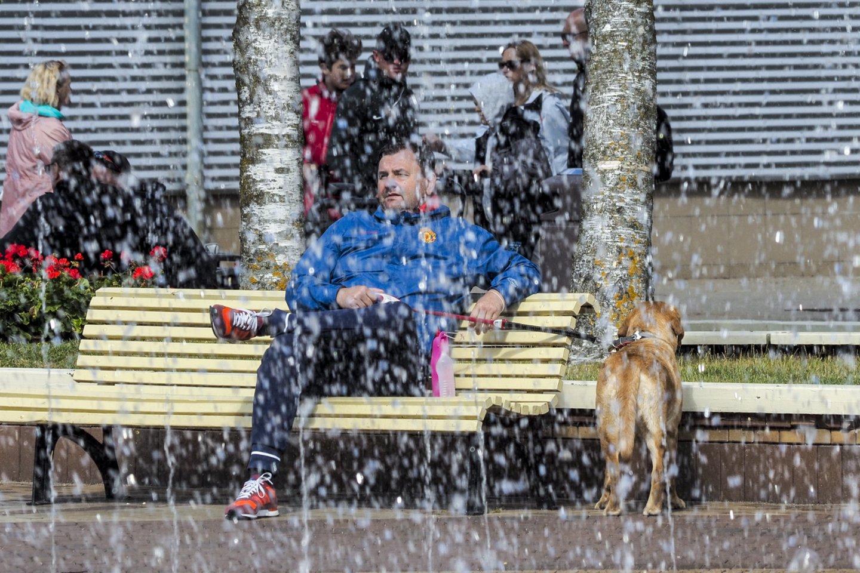 Šylant orams ir artėjant vasaros sezonui netyla kalbos apie kainas ir lankytojų srautus Lietuvos kurortuose.<br>V.Ščiavinsko nuotr.