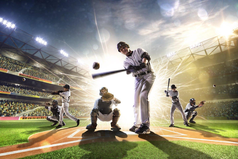 Beisbolo istorijoje yra daugybė atvejų, pasibaigusių keistomis traumomis.<br>123rf nuotr.