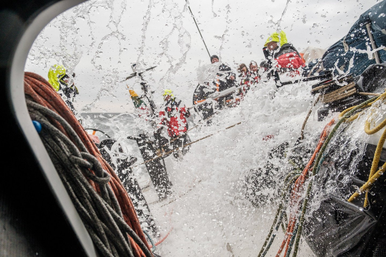 """Lietuvos komanda su """"Ambersail-2"""" jachta taps vieno iš trijų didžiausių buriavimo sporto įvykių dalimi – startuos """"The Ocean Race"""" vardo varžybose aplink Europą.<br>E.Bareikos nuotr."""