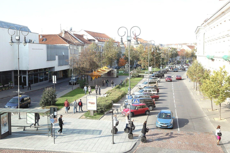 Apie Vokiečių gatvės rekonstrukciją kalbama nuo A.Zuoko vadovavimo laikų.<br>R.Danisevičiaus nuotr.