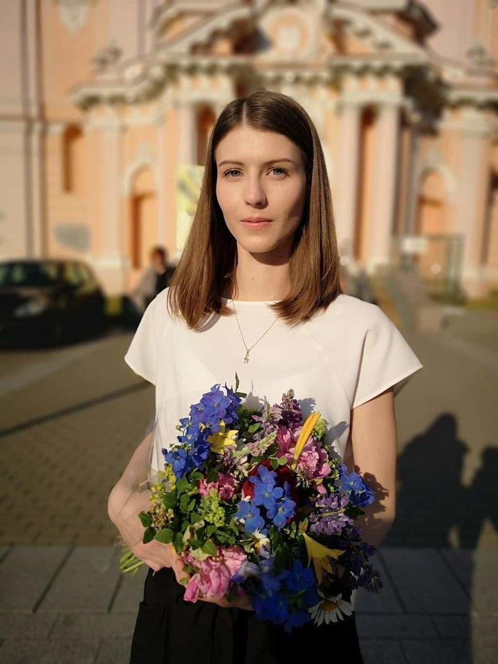 Eglė Maciukevičiūtė.<br>Organizatorių nuotr.