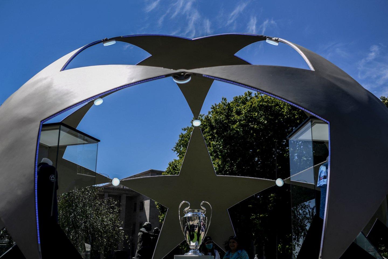 Finalas vyks Porto stadione.<br>AFP/Scanpix nuotr.