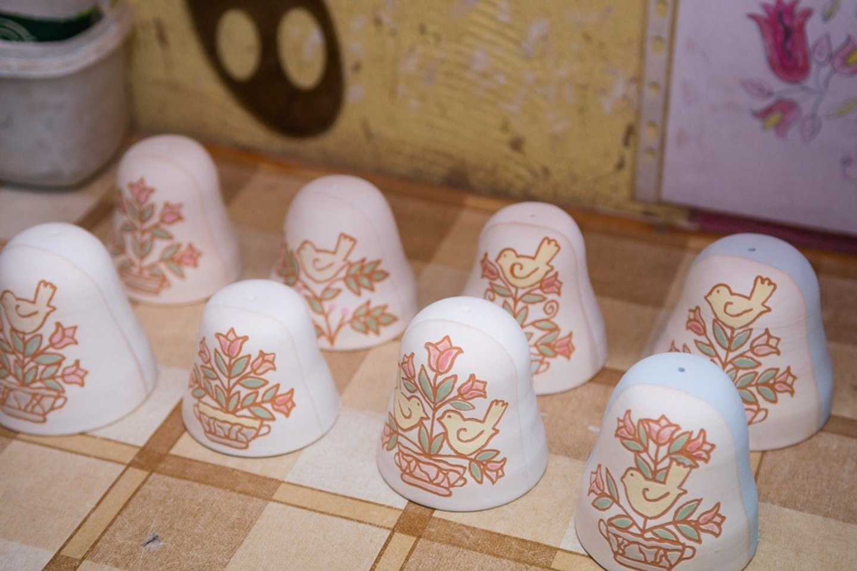 Keramikų Hincų šeima.<br>R.Ančerevičiaus nuotr.