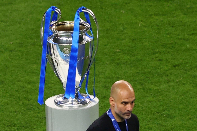 P.Guardiola pralaimėjo finalą.<br>Reuters/Scanpix nuotr.