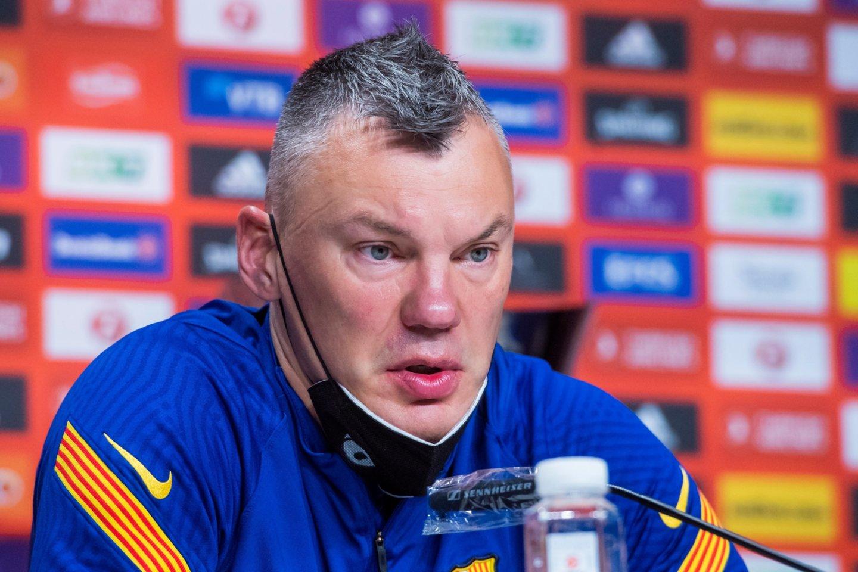 Š.Jasikevičius siekia pirmojo Eurolygos titulo kaip treneris.<br>Barca Basket nuotr.