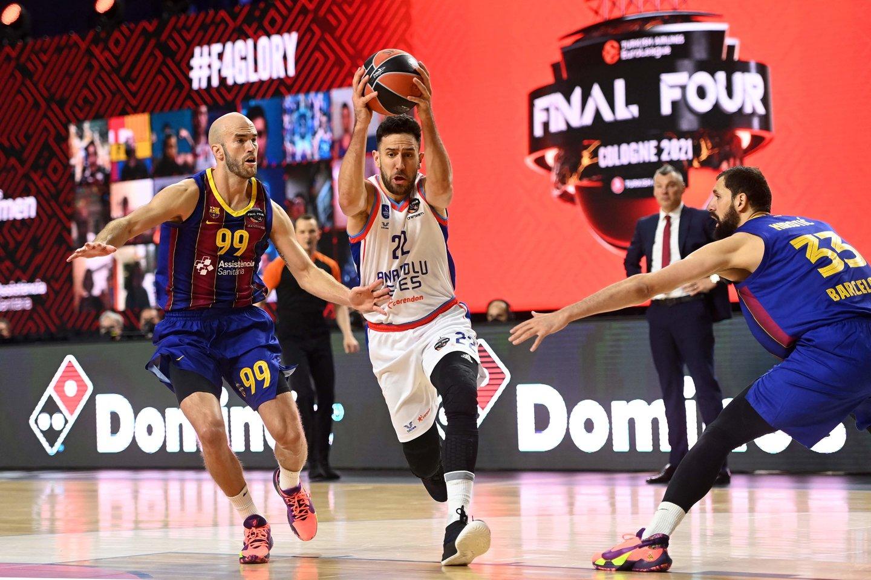25 taškus pelnęs V.Micičius tapo naudingiausiu finalo žaidėju.<br>Reuters/Scanpix nuotr.