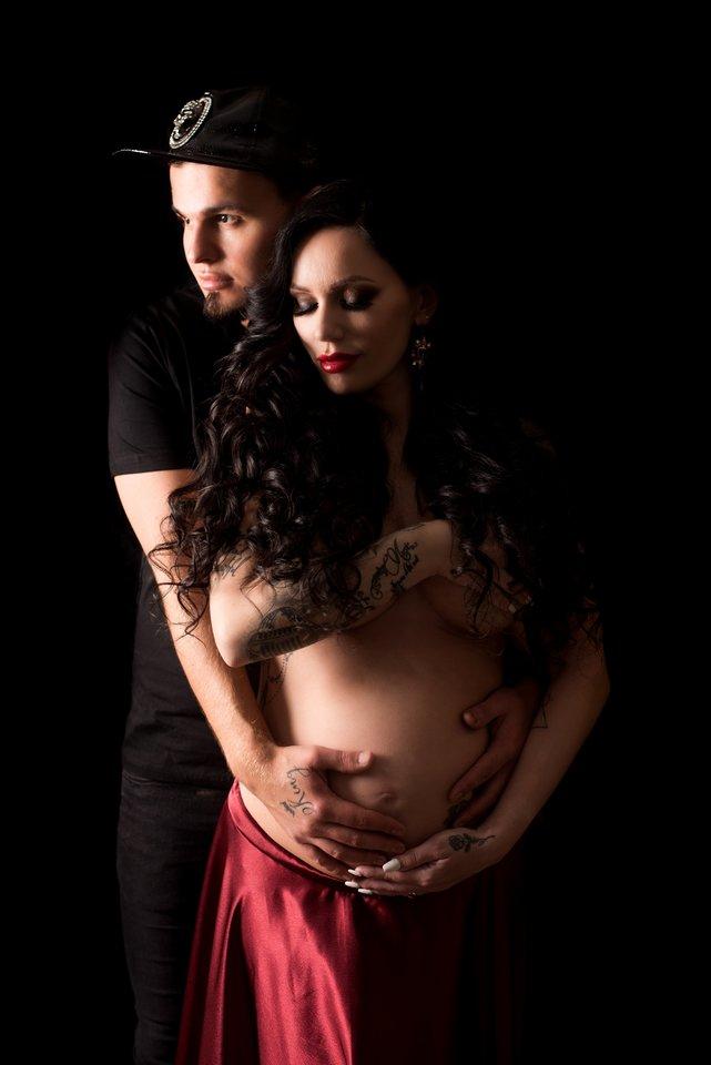 Vytenis Partikas su žmona Justina.<br>Asmeninio archyvo nuotr.
