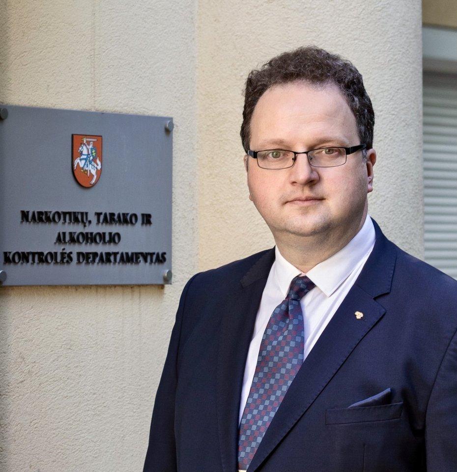 NTAKD direktorius Renaldas Čiužas.<br>Asmeninio archyvo nuotr.