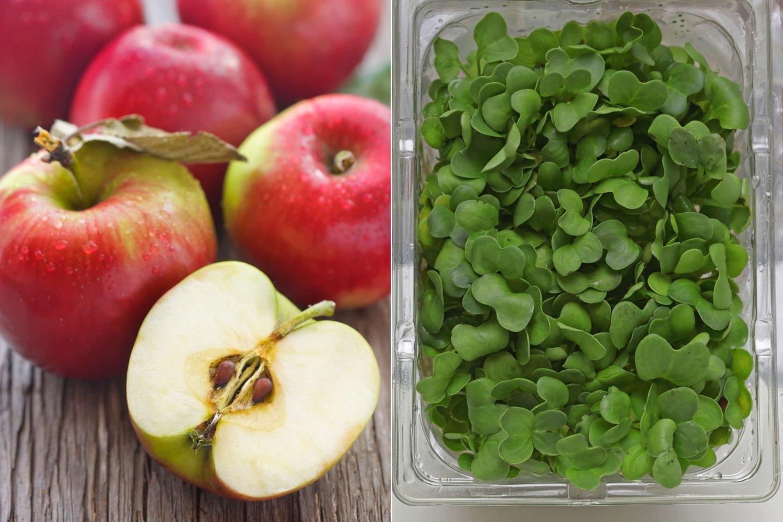 Obuoliai ir rėžiukai laikomi vienais sveikiausių produktų.<br>123rf nuotr.